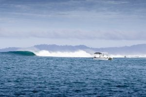 powercat catches the waves by surf banyak